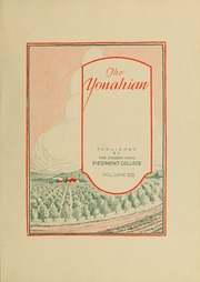 Page 7, 1929 Edition, Piedmont College - Yonahian Yearbook (Demorest, GA) online yearbook collection