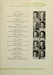 Page 15, 1936 Edition, Piedmont College - Yonahian Yearbook (Demorest, GA) online yearbook collection