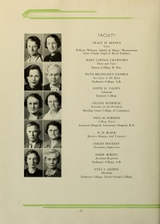 Page 16, 1936 Edition, Piedmont College - Yonahian Yearbook (Demorest, GA) online yearbook collection