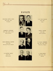 Page 12, 1941 Edition, Piedmont College - Yonahian Yearbook (Demorest, GA) online yearbook collection