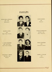 Page 13, 1941 Edition, Piedmont College - Yonahian Yearbook (Demorest, GA) online yearbook collection