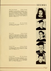 Page 17, 1941 Edition, Piedmont College - Yonahian Yearbook (Demorest, GA) online yearbook collection