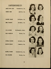 Page 17, 1944 Edition, Piedmont College - Yonahian Yearbook (Demorest, GA) online yearbook collection