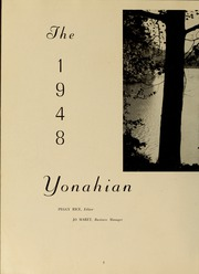 Page 12, 1948 Edition, Piedmont College - Yonahian Yearbook (Demorest, GA) online yearbook collection