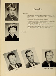 Page 14, 1956 Edition, Piedmont College - Yonahian Yearbook (Demorest, GA) online yearbook collection