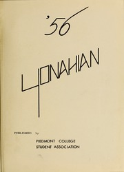 Page 5, 1956 Edition, Piedmont College - Yonahian Yearbook (Demorest, GA) online yearbook collection