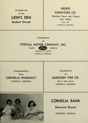 Page 111, 1960 Edition, Piedmont College - Yonahian Yearbook (Demorest, GA) online yearbook collection