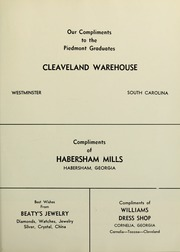 Page 117, 1960 Edition, Piedmont College - Yonahian Yearbook (Demorest, GA) online yearbook collection