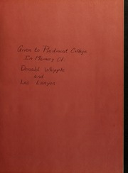 Page 3, 1965 Edition, Piedmont College - Yonahian Yearbook (Demorest, GA) online yearbook collection