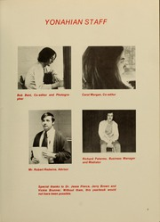 Page 7, 1973 Edition, Piedmont College - Yonahian Yearbook (Demorest, GA) online yearbook collection