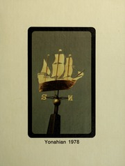 Piedmont College - Yonahian Yearbook (Demorest, GA) online yearbook collection, 1978 Edition, Page 1