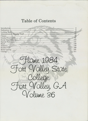 Page 5, 1984 Edition, Fort Valley State University - Flame Yearbook (Fort Valley, GA) online yearbook collection