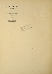 Page 6, 1936 Edition, LaGrange College - Quadrangle Yearbook (Lagrange, GA) online yearbook collection