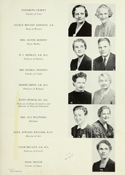 Page 15, 1941 Edition, LaGrange College - Quadrangle Yearbook (Lagrange, GA) online yearbook collection