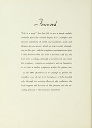 Page 8, 1941 Edition, LaGrange College - Quadrangle Yearbook (Lagrange, GA) online yearbook collection
