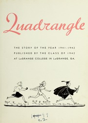Page 7, 1942 Edition, LaGrange College - Quadrangle Yearbook (Lagrange, GA) online yearbook collection