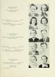 Page 15, 1943 Edition, LaGrange College - Quadrangle Yearbook (Lagrange, GA) online yearbook collection