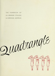Page 7, 1943 Edition, LaGrange College - Quadrangle Yearbook (Lagrange, GA) online yearbook collection
