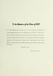 Page 15, 1947 Edition, LaGrange College - Quadrangle Yearbook (Lagrange, GA) online yearbook collection
