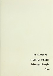 Page 7, 1947 Edition, LaGrange College - Quadrangle Yearbook (Lagrange, GA) online yearbook collection