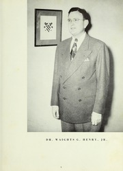 Page 15, 1949 Edition, LaGrange College - Quadrangle Yearbook (Lagrange, GA) online yearbook collection