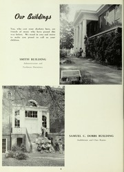 Page 10, 1955 Edition, LaGrange College - Quadrangle Yearbook (Lagrange, GA) online yearbook collection