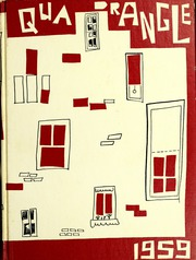 Page 1, 1959 Edition, LaGrange College - Quadrangle Yearbook (Lagrange, GA) online yearbook collection