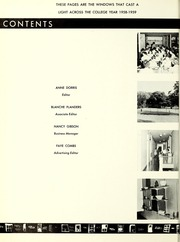 Page 6, 1959 Edition, LaGrange College - Quadrangle Yearbook (Lagrange, GA) online yearbook collection