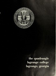 Page 5, 1965 Edition, LaGrange College - Quadrangle Yearbook (Lagrange, GA) online yearbook collection