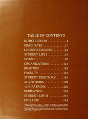 Page 6, 1974 Edition, LaGrange College - Quadrangle Yearbook (Lagrange, GA) online yearbook collection