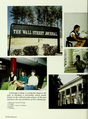 Page 14, 1986 Edition, LaGrange College - Quadrangle Yearbook (Lagrange, GA) online yearbook collection