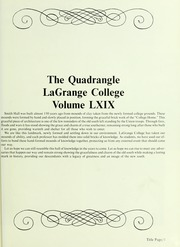 Page 5, 1986 Edition, LaGrange College - Quadrangle Yearbook (Lagrange, GA) online yearbook collection