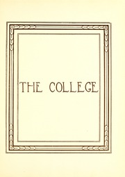 Page 13, 1930 Edition, Georgia College and State University - Spectrum Yearbook (Milledgeville, GA) online yearbook collection