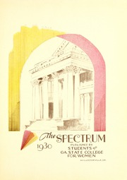 Page 7, 1930 Edition, Georgia College and State University - Spectrum Yearbook (Milledgeville, GA) online yearbook collection