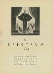 Page 7, 1934 Edition, Georgia College and State University - Spectrum Yearbook (Milledgeville, GA) online yearbook collection