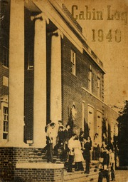 1940 Edition, Berry College - Cabin Log Yearbook (Mount Berry, GA)