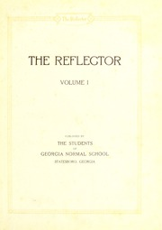 Page 5, 1926 Edition, Georgia Southern University - Reflector Yearbook (Statesboro, GA) online yearbook collection