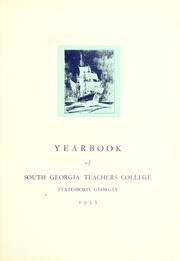 Page 5, 1933 Edition, Georgia Southern University - Reflector Yearbook (Statesboro, GA) online yearbook collection