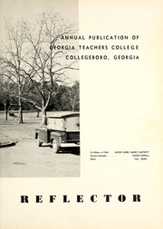 Page 9, 1957 Edition, Georgia Southern University - Reflector Yearbook (Statesboro, GA) online yearbook collection