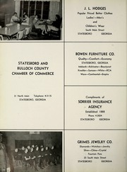Page 198, 1959 Edition, Georgia Southern University - Reflector Yearbook (Statesboro, GA) online yearbook collection