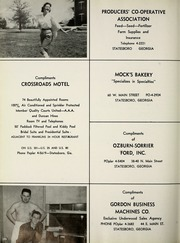 Page 202, 1959 Edition, Georgia Southern University - Reflector Yearbook (Statesboro, GA) online yearbook collection