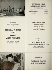 Page 206, 1959 Edition, Georgia Southern University - Reflector Yearbook (Statesboro, GA) online yearbook collection