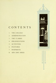 Page 11, 1926 Edition, Valdosta State University - Pinecone Yearbook (Valdosta, GA) online yearbook collection