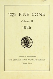 Page 7, 1926 Edition, Valdosta State University - Pinecone Yearbook (Valdosta, GA) online yearbook collection