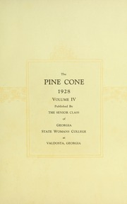 Page 7, 1928 Edition, Valdosta State University - Pinecone Yearbook (Valdosta, GA) online yearbook collection