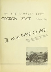 Page 7, 1939 Edition, Valdosta State University - Pinecone Yearbook (Valdosta, GA) online yearbook collection