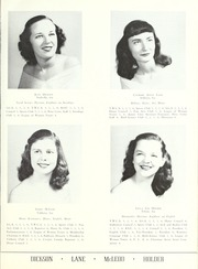 Page 21, 1948 Edition, Valdosta State University - Pinecone Yearbook (Valdosta, GA) online yearbook collection