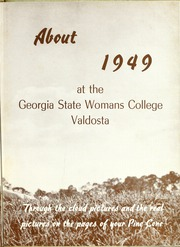 Page 7, 1949 Edition, Valdosta State University - Pinecone Yearbook (Valdosta, GA) online yearbook collection