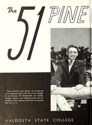 Page 10, 1951 Edition, Valdosta State University - Pinecone Yearbook (Valdosta, GA) online yearbook collection