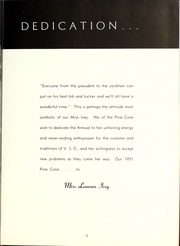Page 13, 1951 Edition, Valdosta State University - Pinecone Yearbook (Valdosta, GA) online yearbook collection